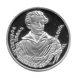 Silbermünze 10 Złote Polen Juliusz Słowacki Jahr 1999 Polierte Platte PP | Gedenkmünzen - Alotcoins