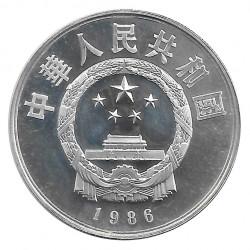 Silver Coin 5 Yuan China Zu Chong Zhi Year 1986 Proof | Numismatics Shop - Alotcoins