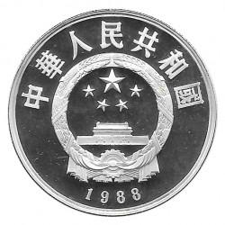 Silbermünze 5 Yuan China Su Shi Jahr 1988 Polierte Platte PP | Sammlermünzen - Alotcoins