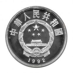 Silbermünze 5 Yuan China Koxinga Jahr 1992 Polierte Platte PP | Sammlermünzen - Alotcoins