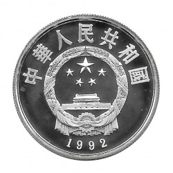 Silver Coin 5 Yuan China Koxinga Year 1992 Proof | Numismatics Shop - Alotcoins
