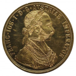 Gold Coin of 4 ducats Austria Franz Joseph I 13.96 g Year 1915 | Collectible Coins - Alotcoins