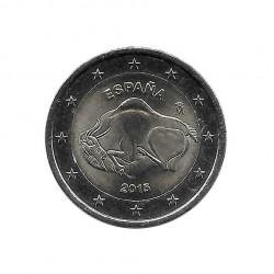 Gedenkmünze 2 Euro Spanien Höhle von Altamira Jahr 2015 Unzirkuliert UNZ | Numismatik Store - Alotcoins