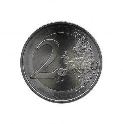 Gedenkmünze 2 Euro Österreich 30 Jahre EU-Flagge Jahr 2015 Unzirkuliert UNZ | Sammlermünzen - Alotcoins