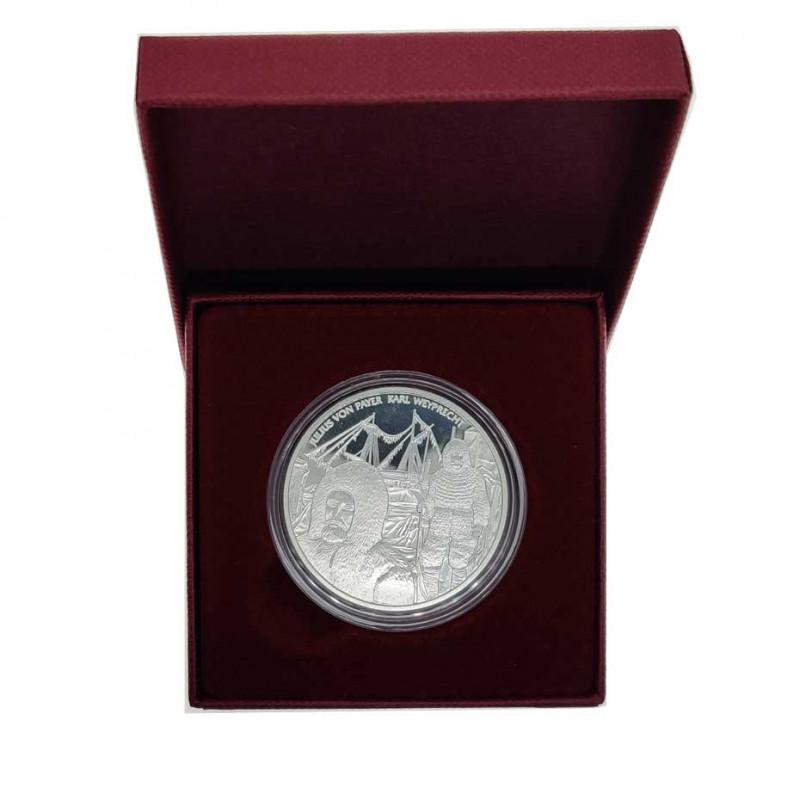 Goldmünze von 20 euro Österreich Polarexpedition Tegetthoff Jahr 2005 Polierte Platte PP   Silbermünzen - Alotcoins
