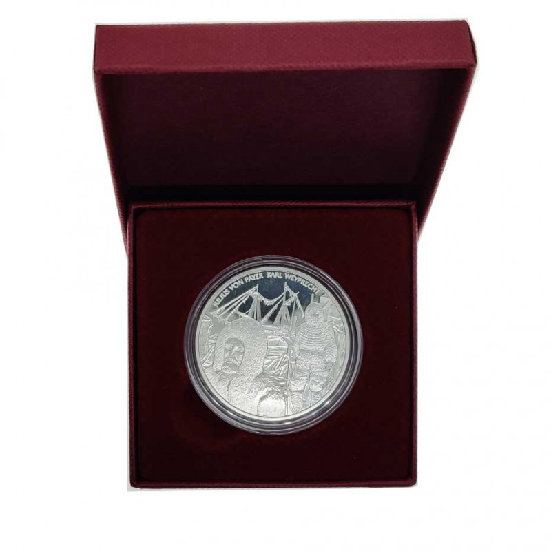Silver coin of 20 euros Austria Admiral Tegetthoff Year 2005 Proof | Silver coins - Alotcoins