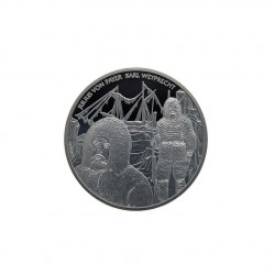 Moneda de plata 20 euros Austria Almirante Tegetthoff Año 2005 Proof | Tienda de numismática - Alotcoins