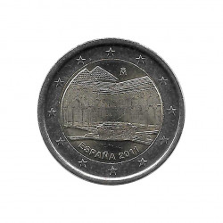 Commemorative Coin 2 Euros Spain the Alhambra in Granada Year 2011 Uncirculated UNC   Collectible coins - Alotcoins