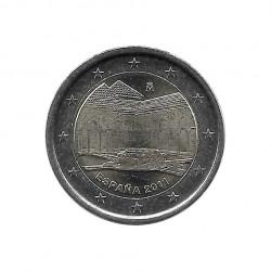 Gedenkmünze 2 Euro Spanien die Alhambra in Granada Jahr 2011 Unzirkuliert UNZ | Numismatik Store - Alotcoins