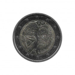 Commemorative Coin 2 Euros France Auguste Rodin Year 2017 Uncirculated UNC | Collectible coins - Alotcoins