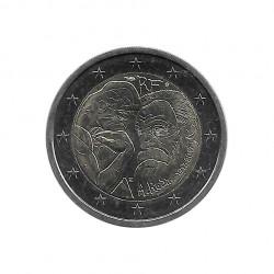 Moneda 2 Euros Conmemorativa Francia Auguste Rodin Año 2017 Sin circular SC | Monedas de colección - Alotcoins