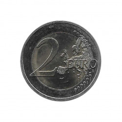 Commemorative Coin 2 Euros France Auguste Rodin Year 2017