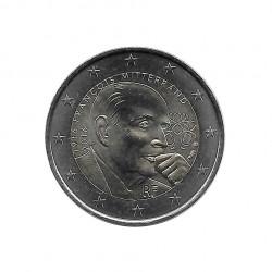 Moneda 2 Euros Conmemorativa Francia François Mitterrand Año 2016 Sin circular SC | Monedas de colección - Alotcoins