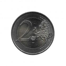 Moneda 2 Euros Conmemorativa Francia François Mitterrand Año 2016 Sin circular SC | Numismática española - Alotcoins
