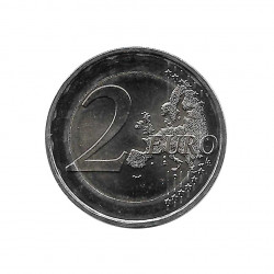 Commemorative Coin 2 Euros France Pink ribbon Year 2017 Uncirculated UNC | Numismatics Shop - Alotcoins