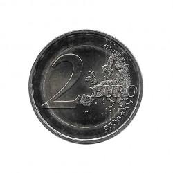 Moneda 2 Euros Conmemorativa Francia Lazo Rosa Año 2017 Sin circular SC | Numismática española - Alotcoins