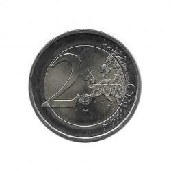 Moneda 2 Euros Conmemorativa Finlandia Jean Sibelius Año 2015 Sin circular SC | Numismática española - Alotcoins