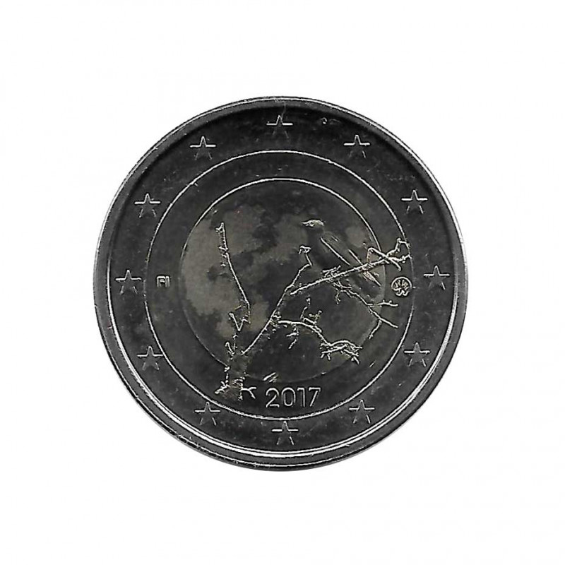 Commemorative Coin 2 Euros Finland Finnish Nature Year 2017 Uncirculated UNC   Collectible coins - Alotcoins