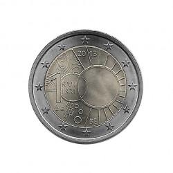 Moneda 2 Euros Conmemorativa Bélgica Real Instituto Meteorológico Año 2013 Sin circular SC | Monedas de colección - Alotcoins