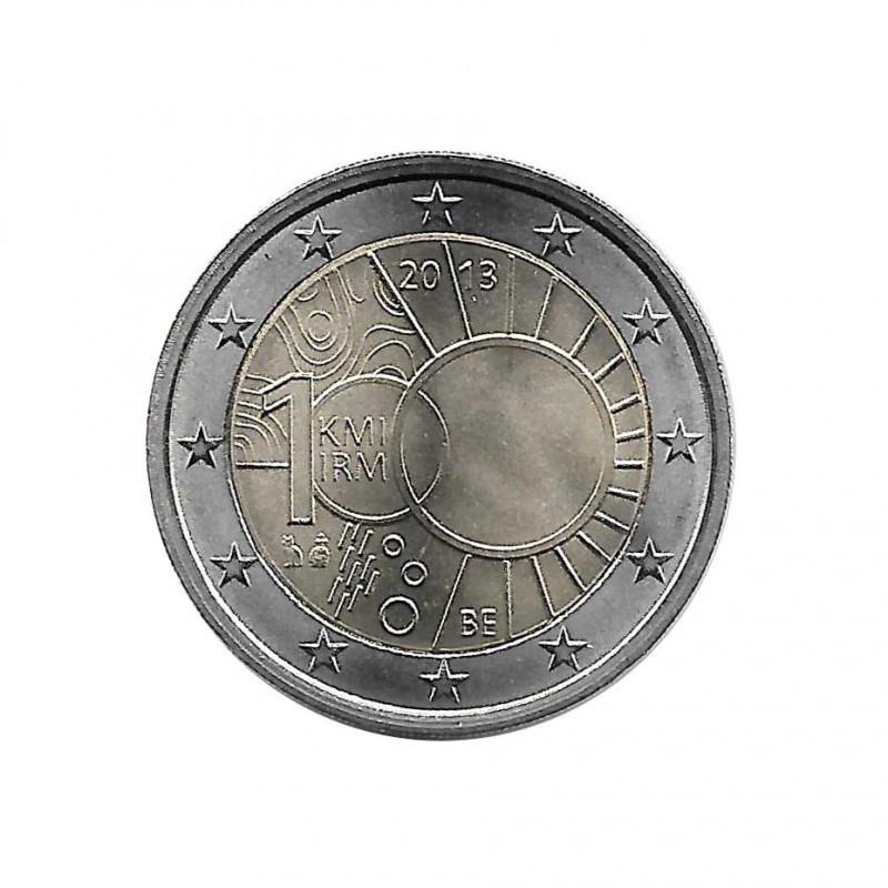 Gedenkmünze 2 Euro Belgien Royal Meteorological Institute Jahr 2013 Unzirkuliert UNZ | Euromünzen - Alotcoins