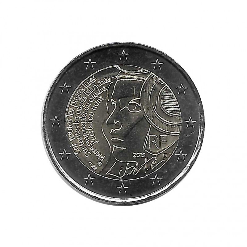 Commemorative Coin 2 Euros France Festival of the Federation Year 2015 Uncirculated UNC | Collectible coins - Alotcoins