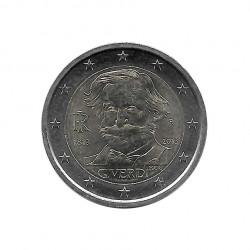 Moneda 2 Euros Conmemorativa Italia Giuseppe Verdi Año 2013 Sin circular SC | Monedas de colección - Alotcoins