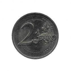 Gedenkmünze 2 Euro Luxemburg 30 Jahre EU-Flagge Jahr 2015 Unzirkuliert UNZ   Sammlermünzen - Alotcoins