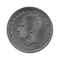 Coin 50 Pesetas Spain Soccer World Cup 1982 Star 82 Year 1980 Uncirculated UNC | Collectible coins - Alotcoins