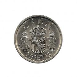 Coin 100 Pesetas Spain King Juan Carlos I Year 1986 Uncirculated UNC | Numismatics Store - Alotcoins