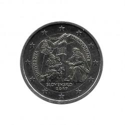 Commemorative Coin 2 Euros Slovakia Accession European Union Year 2014 Uncirculated UNC | Collectible coins - Alotcoins