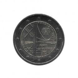 Moneda 2 Euros Conmemorativa Portugal Puente 25 de abril Año 2016 Sin circular SC | Monedas de colección - Alotcoins