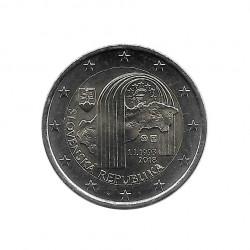 Moneda eslovaca 2 Euros Conmemorativa Eslovaquia República Eslovaca Año 2018 Sin circular SC | Monedas de colección - Alotcoins