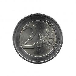 Commemorative Coin 2 Euros Luxembourg Grand Duchess Charlotte Bridge Year 2016 Uncirculated UNC | Numismatics Shop - Alotcoins