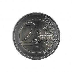 Moneda 2 Euros Conmemorativa Portugal Raúl Brandão Año 2017 Sin circular SC | Numismática española - Alotcoins
