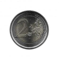 Moneda conmemorativa de 2 euros Italia Dante Alighieri Año 2015 Sin circular SC | Numismática española - Alotcoins