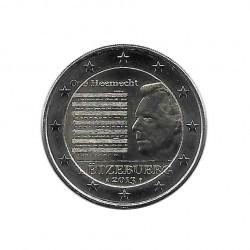 Moneda 2 Euros Conmemorativa Luxemburgo Himno Nacional Enrique I Año 2013 Sin circular SC | Monedas de colección - Alotcoins