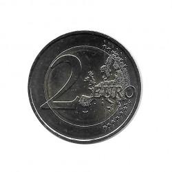 Moneda 2 Euros Conmemorativa Francia Día Mundial Sida 1 de diciembre Año 2014 Sin circular SC | Numismática española - Alotcoins