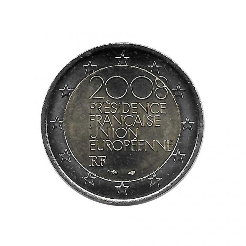 Moneda 2 Euros Conmemorativa Francia Presidencia francesa de la UE Año 2008 Sin circular SC   Monedas de colección - Alotcoins