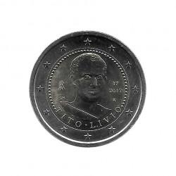 Euromünze 2 Euro Italien Historiker Tito Livio Jahr 2017 Unzirkuliert UNZ | Gedenkmünzen Sammlermünzen - Alotcoins