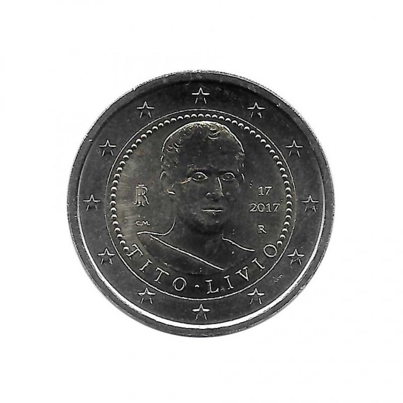 Collectable 2 Euros Coin Italy Tito Livio Year 2017 Uncirculated UNC | Collectible coins - Alotcoins