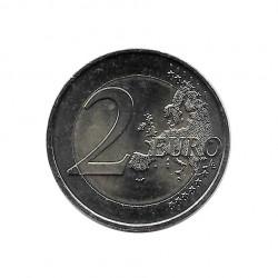 Moneda 2 Euros Conmemorativa Francia 50º aniversario Tratado Elíseo Año 2013 Sin circular SC | Numismática española - Alotcoins
