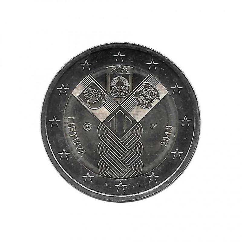 Euromünze 2 Euro Litauen Baltische Staaten Jahr 2018 Unzirkuliert UNZ   Gedenkmünzen Sammlermünzen Numismatik shop - Alotcoins