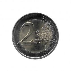 Moneda 2 Euros Conmemorativa Francia Pierre de Coubertin Año 2013 Sin circular SC | Monedas de colección - Alotcoins