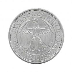 Moneda de plata 3 Reichsmarks Alemania Meissen E Año 1929 | Piezas únicas de numismática - Alotcoins
