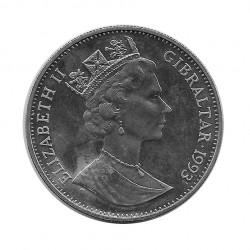 Moneda Conmemorativa 2,8 ECUs Gibraltar Eurotúnel Año 1993 Sin circular SC | Monedas de colección - Alotcoins