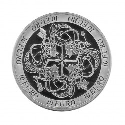 Silver Coin 10 Euro Ireland Year 2007 Celtic Culture Proof | Numismatic Store - Alotcoins