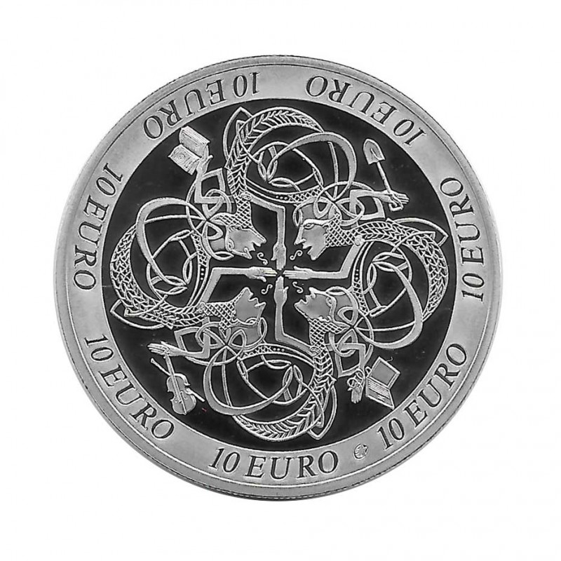 Silver Coin 10 Euro Ireland Year 2007 Celtic Culture Proof   Numismatic Store - Alotcoins