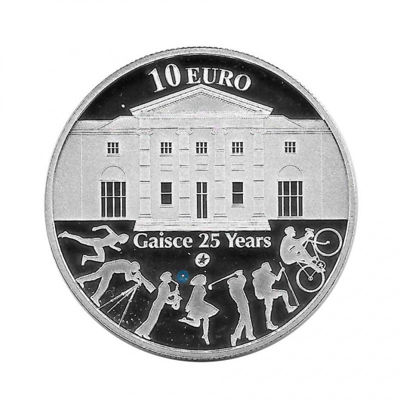 Silver Coin 10 Euro Ireland Year 2010 Gaisce 25 Years Proof   Collectibles - Alotcoins