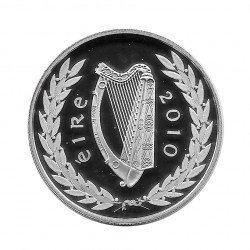 Silver Coin 10 Euro Ireland Year 2010 Gaisce 25 Years Proof   Numismatic Store - Alotcoins