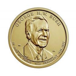 Moneda 1 Dólar Estados Unidos Presidente Bush Año 2020 Sin circular SC | Tienda Numismática - Alotcoins